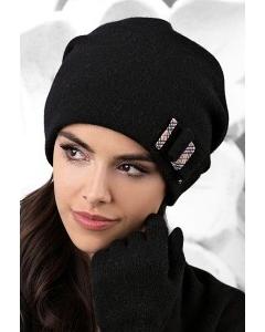 Чёрная шапка Kamea Belluno