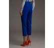 Прямые укороченные брюки василькового цвета Emka D151/caracas