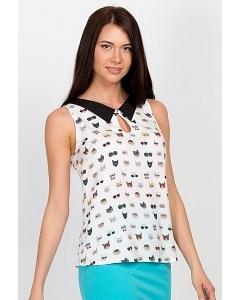 Блузка без рукавов Emka Fashion b 2156/esfir