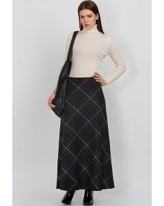 Длинная осенне-зимняя юбка Emka Fashion 314-margo