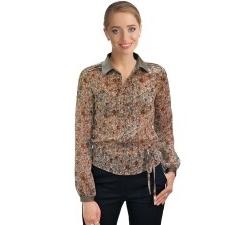 Шифоновая блузка Golub | Б646-1661-1480
