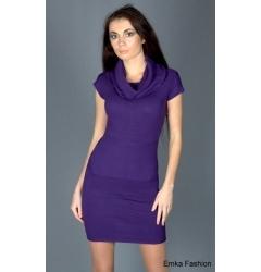 Облегающее трикотажное платье Yiky Fashion