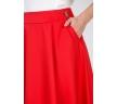 купить юбку красного цвета