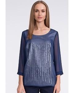 Синяя блузка Sunwear U28