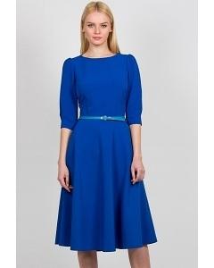 Платье синего цвета Emka Fashion PL-407/jasmin