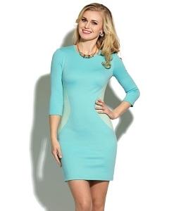 Трикотажное платье Donna Saggia DSP-14-25t (весна 2016)