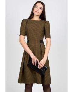 Платье в мелкую клетку Emka Fashion PL-412/ornella