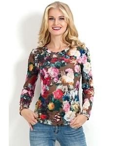 Трикотажная блузка Donna Saggia DSB-05-85t