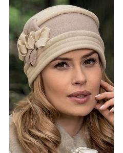 Женская двухцветная шапка Landre Temosa