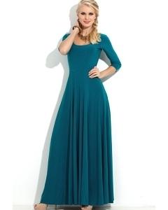 Длинное трикотажное платье Donna Saggia DSP-121-35t