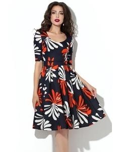 Трикотажное платье Donna Saggia DSP-175-47t