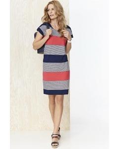 Летнее трикотажное платье в полоску Sunwear YS201-2-30