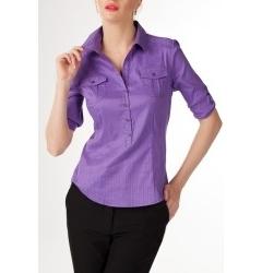 Фиолетовая блузка (осень 2011) | Б764-1252
