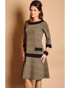 Платье из осенне-зимней коллекции TopDesign B5 033