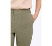 Укороченные брюки цвета хаки Emka D035/faith