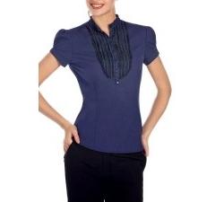 Темно-синяя блузка | Б797-1332