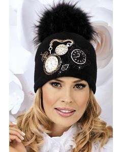 Женская шапка с помпоном Willi Clara