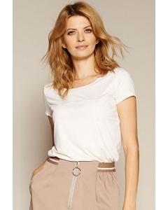 Розовая трикотажная блузка Zaps Ilfira