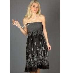Летняя юбка-сарафан