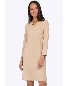 Платье из плотной ткани Emka PL736/sansara