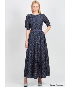 Длинное платье Emka Fashion PL-418/diana