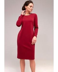 Красное платье TopDesign B7 011