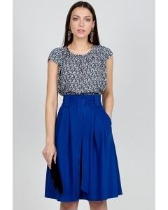 Синяя юбка Emka Fashion 247-jean
