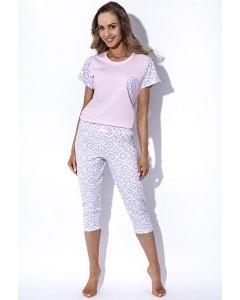 Женская розовая пижама MyMaDo Dolores