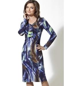 Трикотажное платье TopDesign   B2 086
