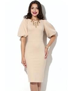Платье с объемным рукавом Donna Saggia DSP-169-45t