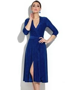 Платье трикотажное с жатым эффектом Donna Saggia DSP-239-7t