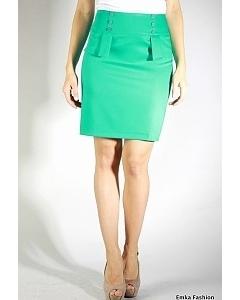 Короткая юбка с баской | 340-totsy