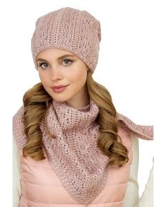 Комплект шапка + бактус Landre Мадлен