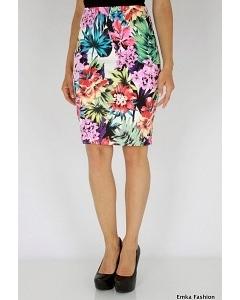 Красивая летняя юбка Emka Fashion 391-akustika