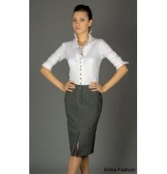 Офисная юбка карандаш Emka fashion   164-piquadro