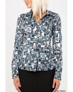 Блузка рубашечного кроя Emka Fashion | B 013/KB-84