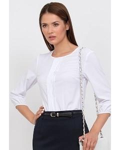 Блузка синего цвета Emka Fashion b 2101/marina