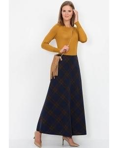 Макси-юбка в клетку Emka Fashion 314-radosveta