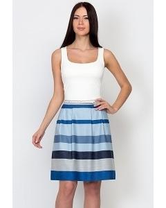 Хлопковая юбка-колокол Emka Fashion 583-justina