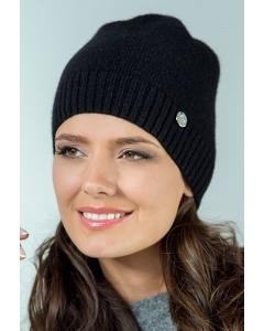 Молодёжная шапка чёрного цвета Landre Берта