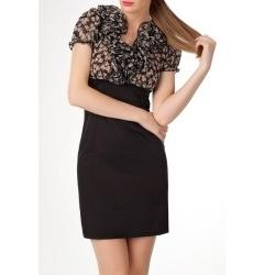 Платье в эффектом 2 в 1