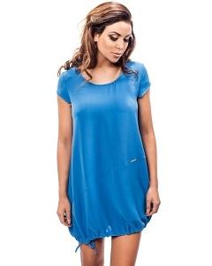 Платье летнее синего цвета Enny 190094