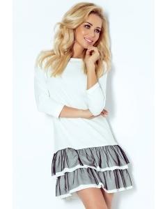 Летнее платье с оборками Numoco 106-2