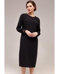 Чёрное платье TopDesign B7 119