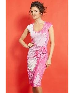 Платье розового цвета TopDesign A5 078