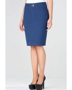 Cиняя юбка-карандаш Emka Fashion 442-serafima