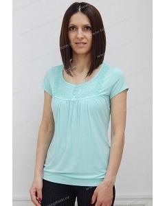 Блузка бирюзового цвета Sunwear N64-3