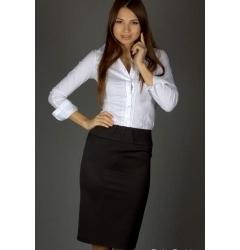 Черная миди юбка | 211-rubi