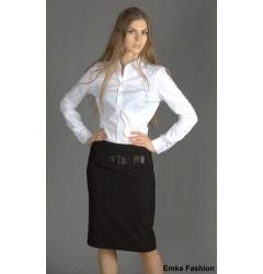 Стильная черная юбка Emka Fashion