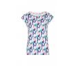 Блузка из тонкого вязаного трикотажа Zaps Asama
